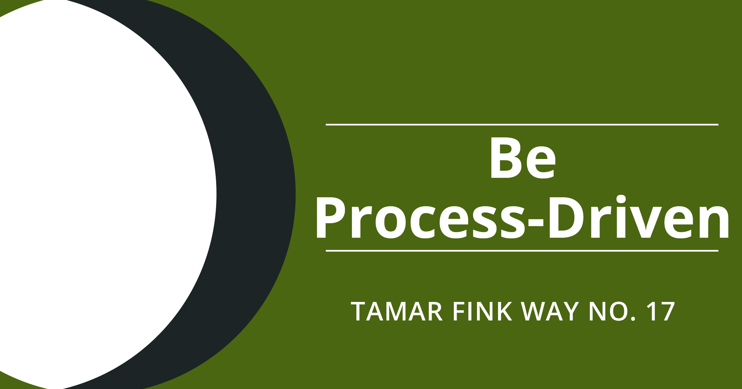The Tamar Fink Way – #17